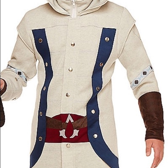 Assassin S Creed Jackets Coats Assassins Creed Connor Hoodie